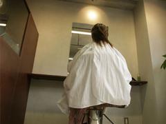 人気の美容院初体験
